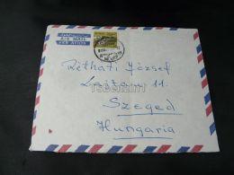 Sudan Khartoum Air Mail Szeged Hungary - Sudan (1954-...)