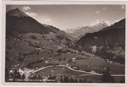 SUISSE,SWITZERLAND,SWISS, HELVETIA,SCHWEIZ,SVIZZERA,LE SEPEY ,VAUD,AIGLE,VUE AERIENNE 1935 - VD Vaud