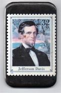 Magnet - Timbre à 32 Cts - Jefferson Davis - Characters