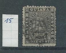 Brits-Guiana     Y /T     15      (O)      Tanding! - British Guiana (...-1966)