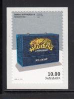 Denmark MNH 2015 10DKK Dry Cell Battery - Danish Inventions - Danemark