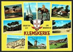KLEMSKERKE - 9 Vues Diverses (2) - Non Circulé - Not Circulated - Nicht Gelaufen. - De Haan