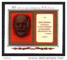 RUSSIA / RUSSIE - 1980 - 110ans De La Naissanc De Lenin - Bl**