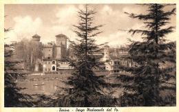 [DC10168] CPA - TORINO - BORGO MEDIOEVALE DAL PO - Non Viaggiata - Old Postcard - Castello Del Valentino