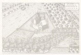 Laarne, Gravure, Praetorium In Illuftris Domini De Laerne (pk36335) - Laarne