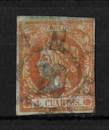 1860 Queen Isabel II →  Mi:ES 44, - 1850-68 Königreich: Isabella II.