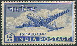 India 1947. Michel #185 MNH/Luxe. Airplanes. (Ts27)