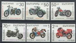 Bulgaria 3454/3459 ** MNH. 1992