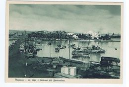 ERITREA - MASSAWA - DAM AND PALACE OF GOVERNOR - EDIT C.A.O. 1936 ( 1508 ) - Postcards