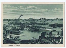 ERITREA - MASSAWA - THE HARBOUR - EDIT C.A.O. 1936 ( 1509 ) - Postcards
