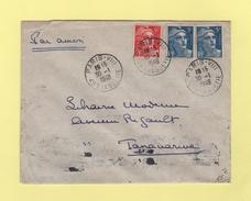 Marianne De Gandon - Destination Tananarive Madagascar - 30-1-1948 - Postmark Collection (Covers)