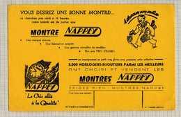 Buvard & Blotting Paper : Montre NAPPEY - Blotters