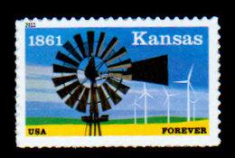 USA, 2011, Scott #4493, Kansas Statehood, 1864, Forever Single, MNH, VF - Unused Stamps