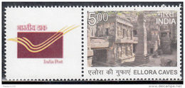 INDIA 2016 MY STAMP, ELLORA CAVES, World Famous Tourism Site, Limited Issue Maharashtra State, 1v, MNH(**)