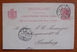 Entero Postal De Holanda - Material Postal