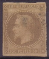 YT9 Napoleon 30c - Losange MQE Martinique
