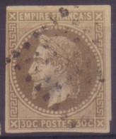 YT9 Napoleon 30c - Losange A Point Noir