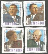 Sc. # 1302-05 Canadian Doctors 1991 Set Used 1991 K258