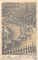 FAMILLES ROYALES ( UK England ) Evènement Events - EDOUARD VII Coronation 1902 - King Queen Approching The Abbey - CPA - Familles Royales