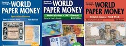 3 Complète Catalogues De Billets Du Monde 1368-2018 DVD - Books & Software