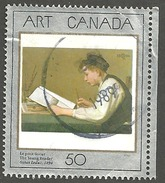 Sc. # 1203 Art Masterpiece #1, The Young Reader Single Used 1988 K263