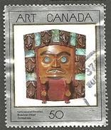 Sc. # 1241 Art Masterpiece #2, Ceremonial Frontlet Single Used 2003 K264