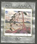 Sc. # 1271 Art Masterpiece #3, The West Wind Single Used 1990 K265