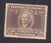 Panama, Scott #330, Mint Hinged, Wilson, Issued 1939