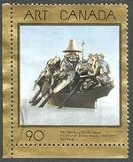 Sc. # 1602 Art Masterpiece 9, The Spirit Of Haida Gwaii Single Used 1993 K274