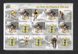 2003 Le Tour De France A 100 Ans Mint Mnh ** Nice Stamps Is Perfect - Foglietti Commemorativi