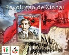 GUINE BISSAU 2011 SHEET REVOLUTION IN XINHAI REVOLUCION EN XINHAI Gb11505b - Guinea-Bissau