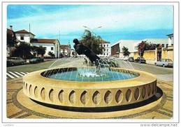 Aveiro - Fonte Luminosa Praça Marques De Pombal - Citroen DS Cars Voitures Portugal ( 2 Scans ) - Aveiro