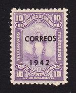 Panama, Scott #339, Mint Hinged, Liberty Overprinted, Issued 1942