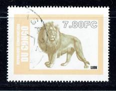 ZAIRE  Lion Oblitéré - 1990-96: Oblitérés