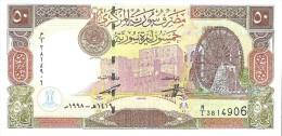 Syria - Pick 107 - 50 Pounds 1998 - Unc - Siria