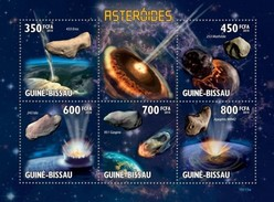 GUINE BISSAU 2010 SHEET ASTEROIDS ASTEROIDES SPACE ESPACE ESPACIO Gb10115a - Guinea-Bissau