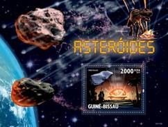 GUINE BISSAU 2010 SHEET ASTEROIDS ASTEROIDES SPACE ESPACE ESPACIO Gb10115b - Guinea-Bissau