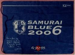Flagge / Fahne  JFA Samurai Blue / Japan  -  Material : Polyester  -  Größe Ca. 79 X 59 Cm - Reklame