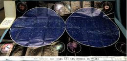 Hallwag Faltkarte / Plakat : Die Sterne  - Ca. 125 X 84 Cm  -  Von Ca. 1985 - Maps Of The World