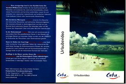 VHS Video Reise  -  Cuba  -  Von 1999 - Viaggio
