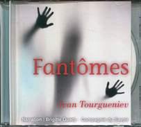 1 Cd Fantomes De Tourgueniev Narration Brigitte Guedj Compagnie Du Savoir - Livres Parlés