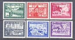GERMANY   Mi  773-8,  B 151 A - 155 A   **   1941  Issue - Unused Stamps