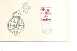 Haltérophilie ( FDC De Hongrie De 1962 à Voir)