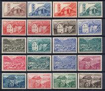 Andorra Francesa. MNH **119/37. 1948. Serie Completa