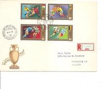 Championnat D'Europe -1972 ( 2 FDC De Hongrie De 1972 Voyagés En Recommandé Vers La Belgique à Voir)