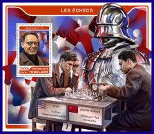 TOGO 2017 ** Chess Schach Echecs Botvinnik S/S - OFFICIAL ISSUE - DH1720
