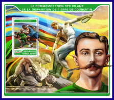 TOGO 2017 ** Pierre De Coubertin Olympic Games S/S - IMPERFORATED - DH1720