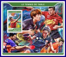 TOGO 2017 ** Table Tennis Tischtennis Tennis De Table S/S - IMPERFORATED - DH1720