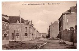 62 - VITRY-EN-ARTOIS . RUE DE LA GARE - Réf. N°2883 - - Vitry En Artois