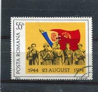 ROMANIA. 1974. SCOTT 2511. ROMANIANS AND FLAGS